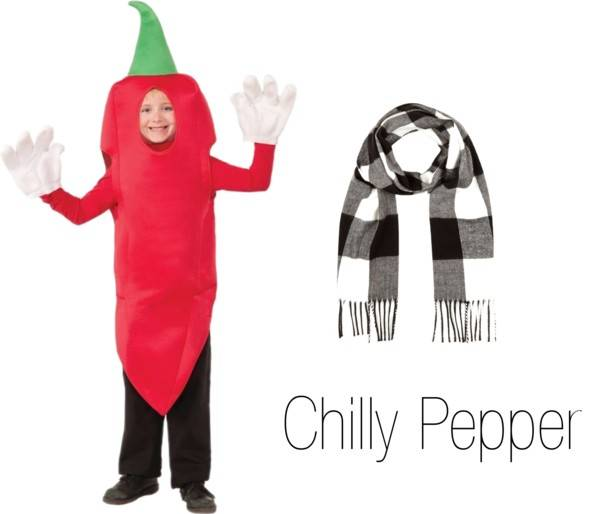 Pun Costume Ideas - Chilly Pepper