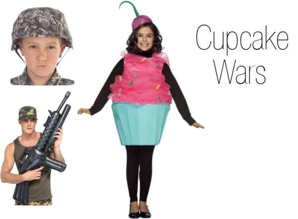 Pun Costume Ideas - Cupcake Wars