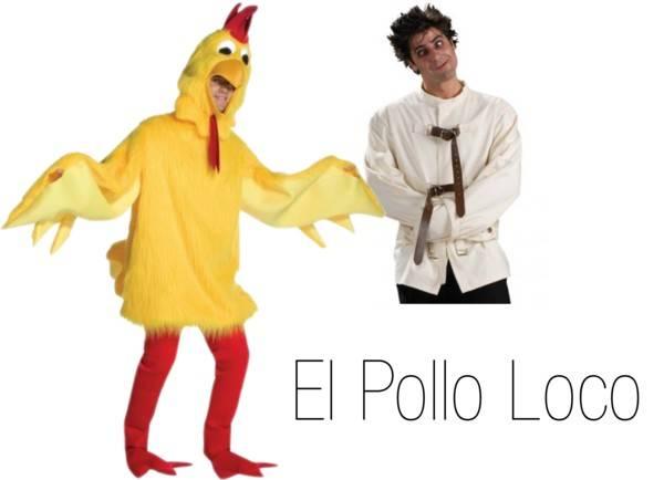 Pun Costume Ideas - El Pollo Loco