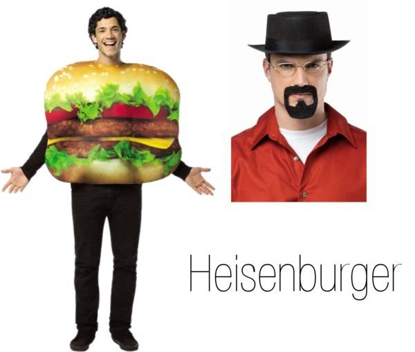 Pun Costume Ideas - Heisenburger