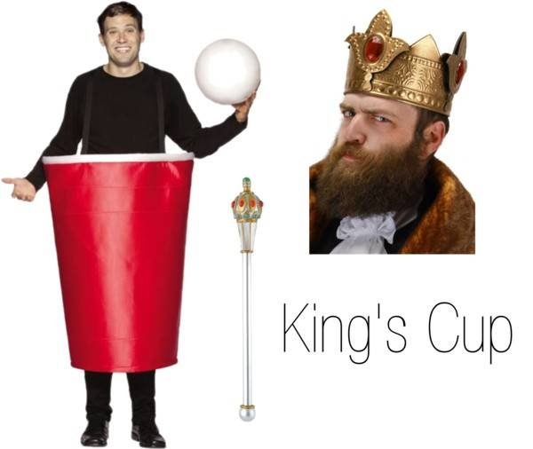 Pun Costume Ideas - King's Cup