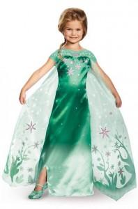 Kids Costume Ideas - Frozen Fever Elsa Costume