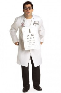 Dr. Seymour Klearly Ophthalmologist Adult Costume