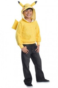 Pikachu Hoodie Child Costume