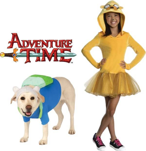 Pet and Owner Costume Ideas Adventure Time