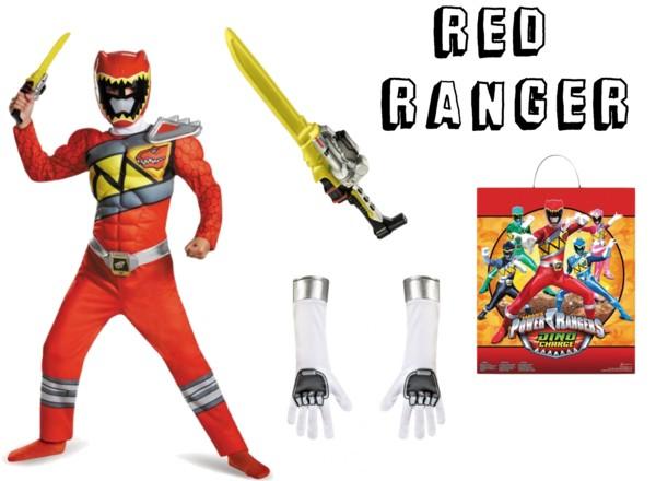 Red Ranger Halloween Costume