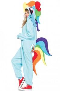 Rainbow Dash Kigurumi Adult Costume