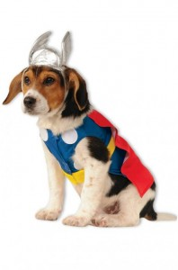 New Superhero Costumes - Thor Pet Costume
