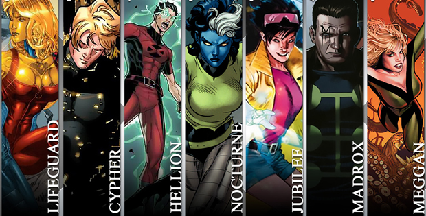 X Men Girl Characters Infographic: The Top 1...