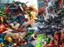 DC and Marvel Characters