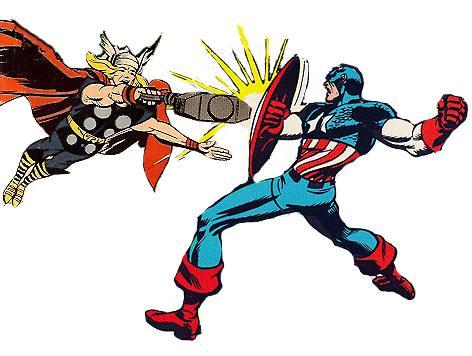Captain America Thor