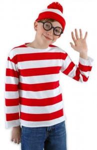 Where's Waldo Waldo Child Costume