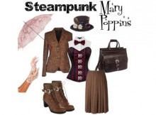DIY Steampunk Mary Poppins