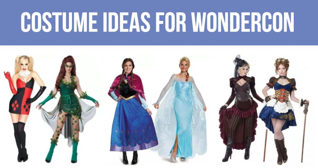 costume ideas for wondercon