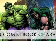 green-comic-book-characters
