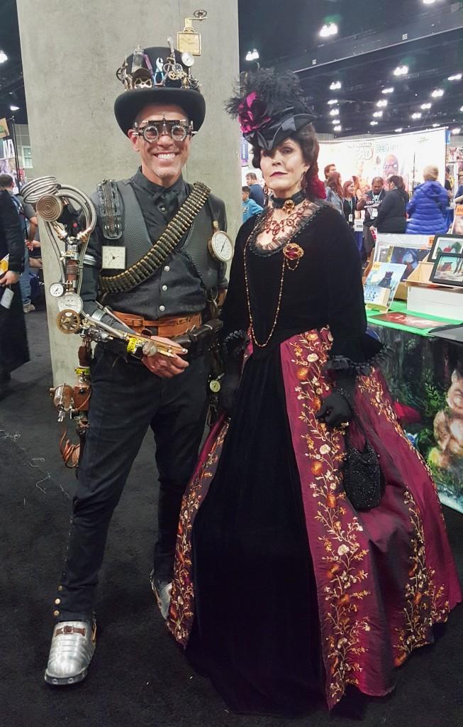 WonderCon 2016_Steampunk Couple