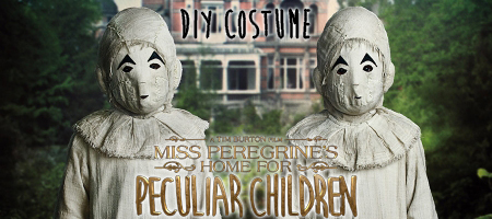 DIY Miss Peregrine's Masked Ballerinas Costume