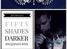 50 fifty shades darker masquerade mask