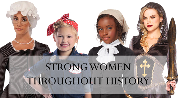 Strong Women Throughout History