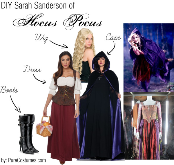 sarah Sanderson Sisters Cosplay from Hocus Pocus