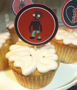 zombie cupcakes brain Creepy Halloween Treats to Try