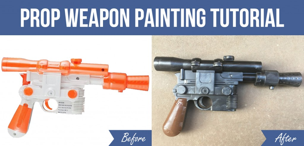 prop weapon painting tutorial