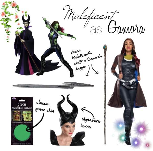 Maleficent as Gamora Disney Superhero Mashups