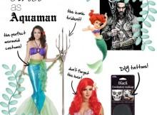 the Little Mermaid Ariel as Aquaman