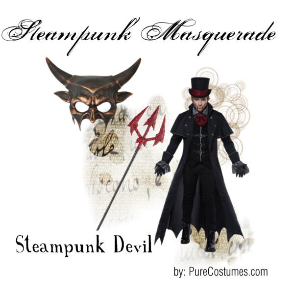 steampunk masquerade ball