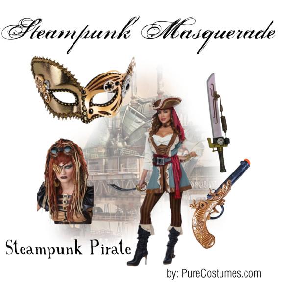 steampunk masquerade ball pirate