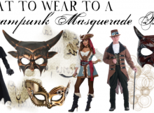 What to Wear to a Steampunk Masquerade Ball