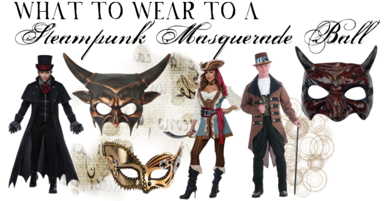 What To Wear A Steampunk Masquerade Ball Pure Costumes Blog