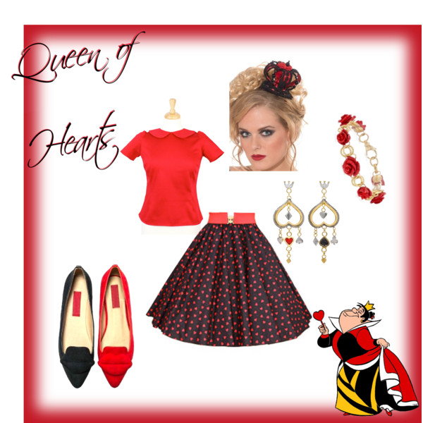 Villaintine's Day Valentine's Villains Disneyland Disneybound queen of hearts