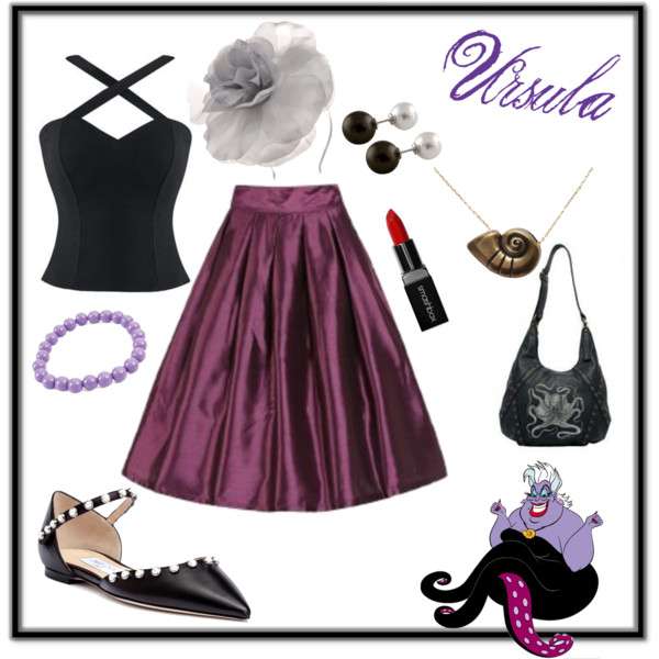 Villaintine's Day Valentine's Villains Disneyland Disneybound Ursula