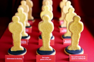 Throw Your Own Oscar Viewing Party 2018 Free Printable sugar cookies food