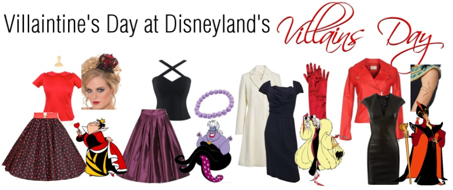 Villaintine's Day Valentine's Villains Disneyland Disneybound