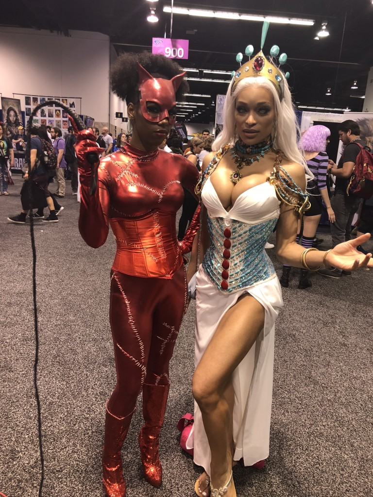 catwoman and storm