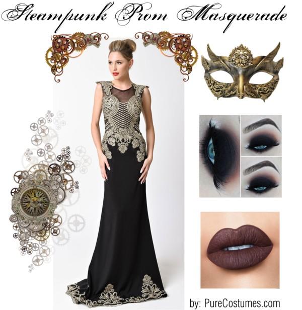 steampunk prom masquerade 1