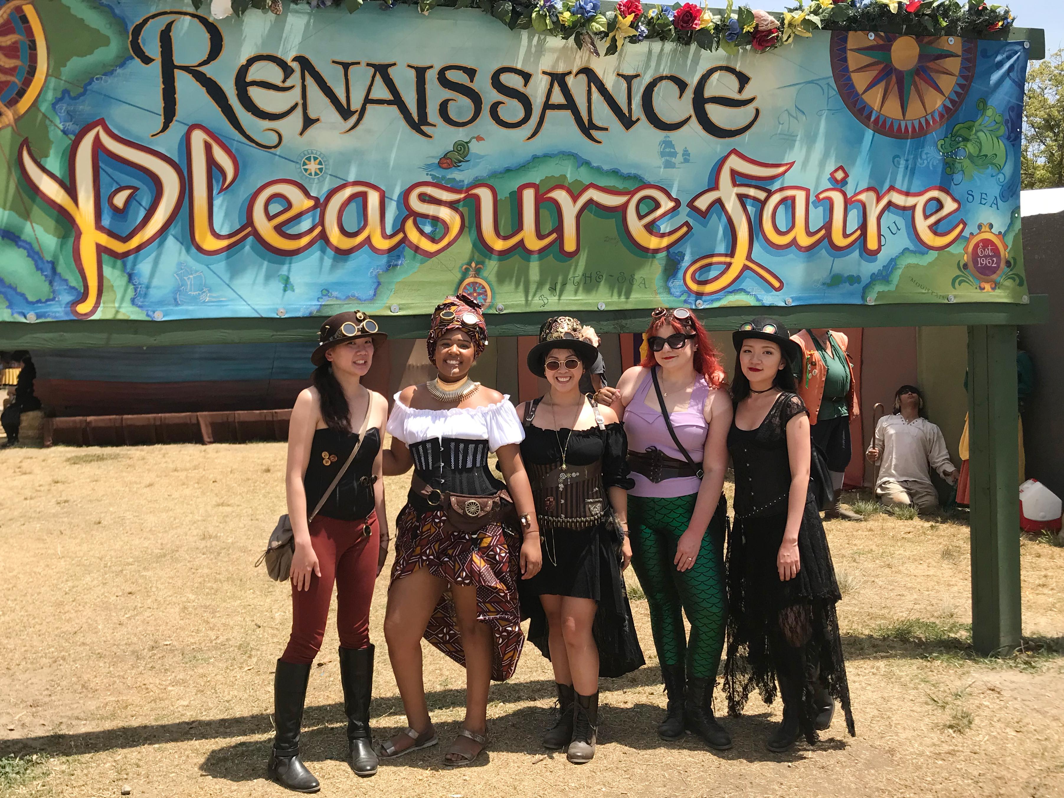 DIY Steampunk Renaissance Costume faire