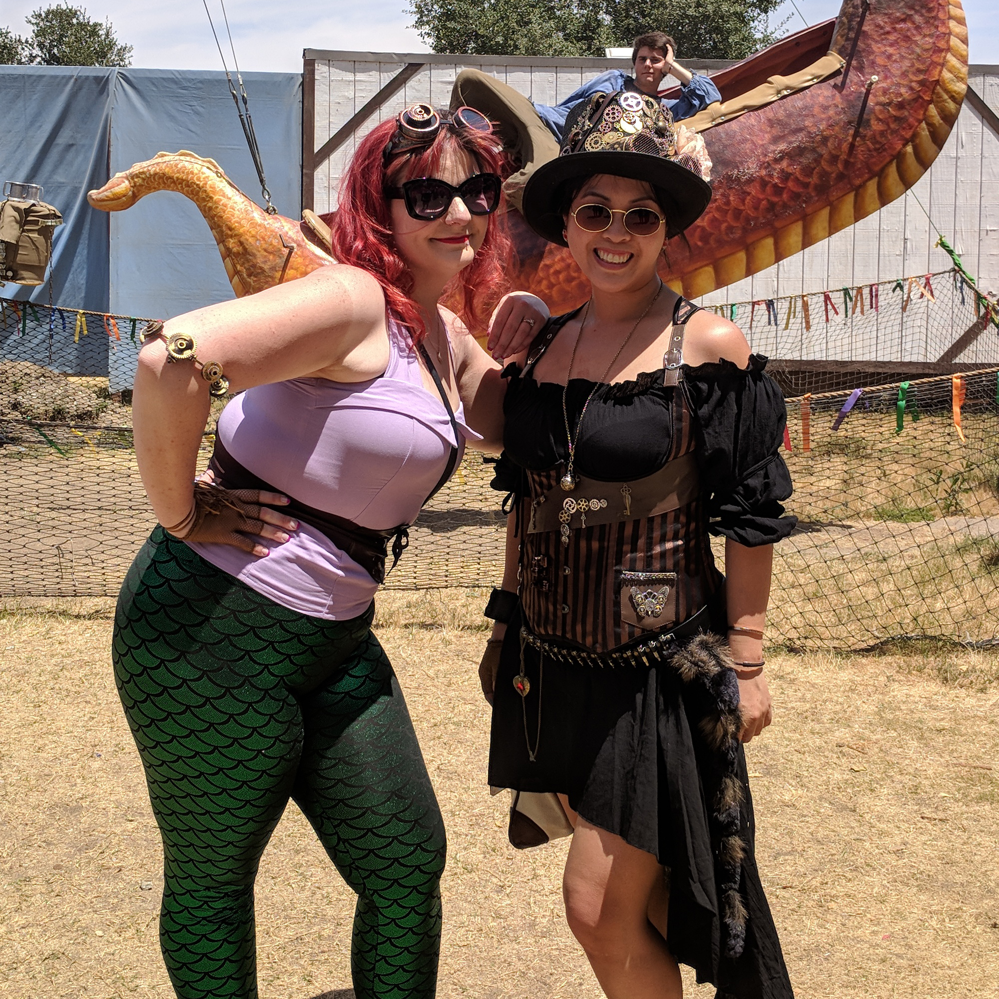 DIY Steampunk Renaissance Costume faire