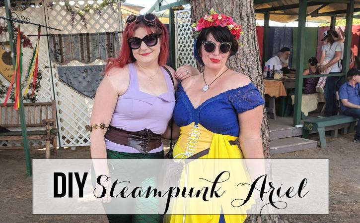diy steampunk ariel renaissance faire