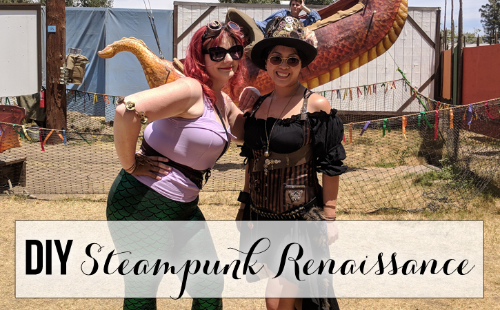 diy steampunk renaissance faire costume