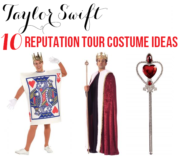 taylor swift reputation tour costume ideas king of my heart 10