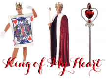 taylor swift reputation tour costume ideas king of my heart