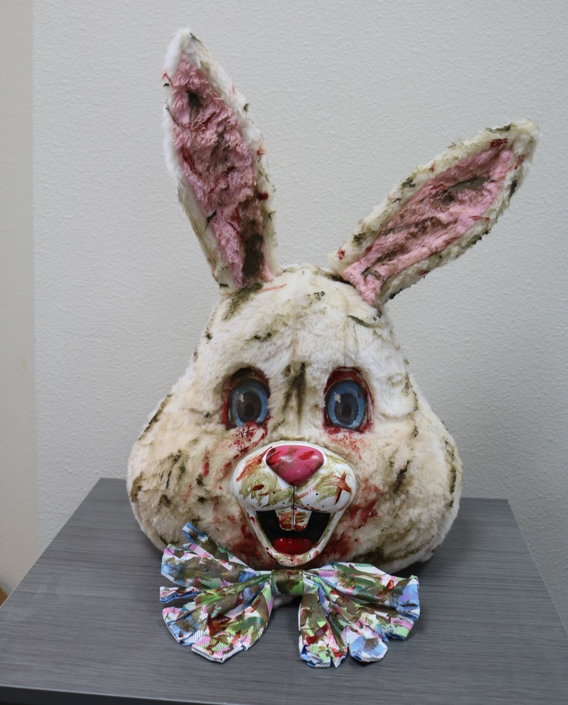 Horror Tutorials Zombie Easter Bunny IMG_0230
