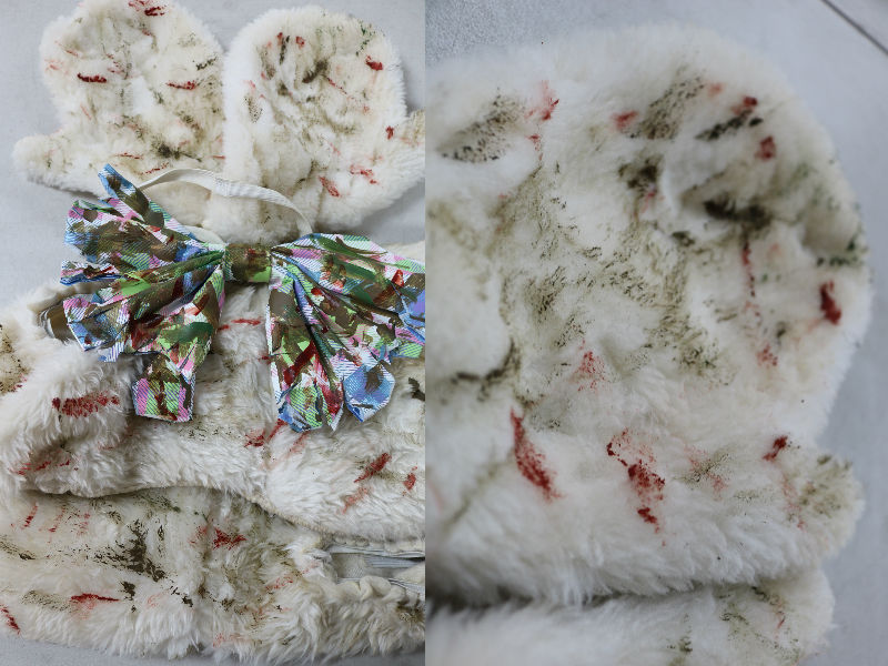 Horror Tutorials Zombie Easter Bunny after side by side