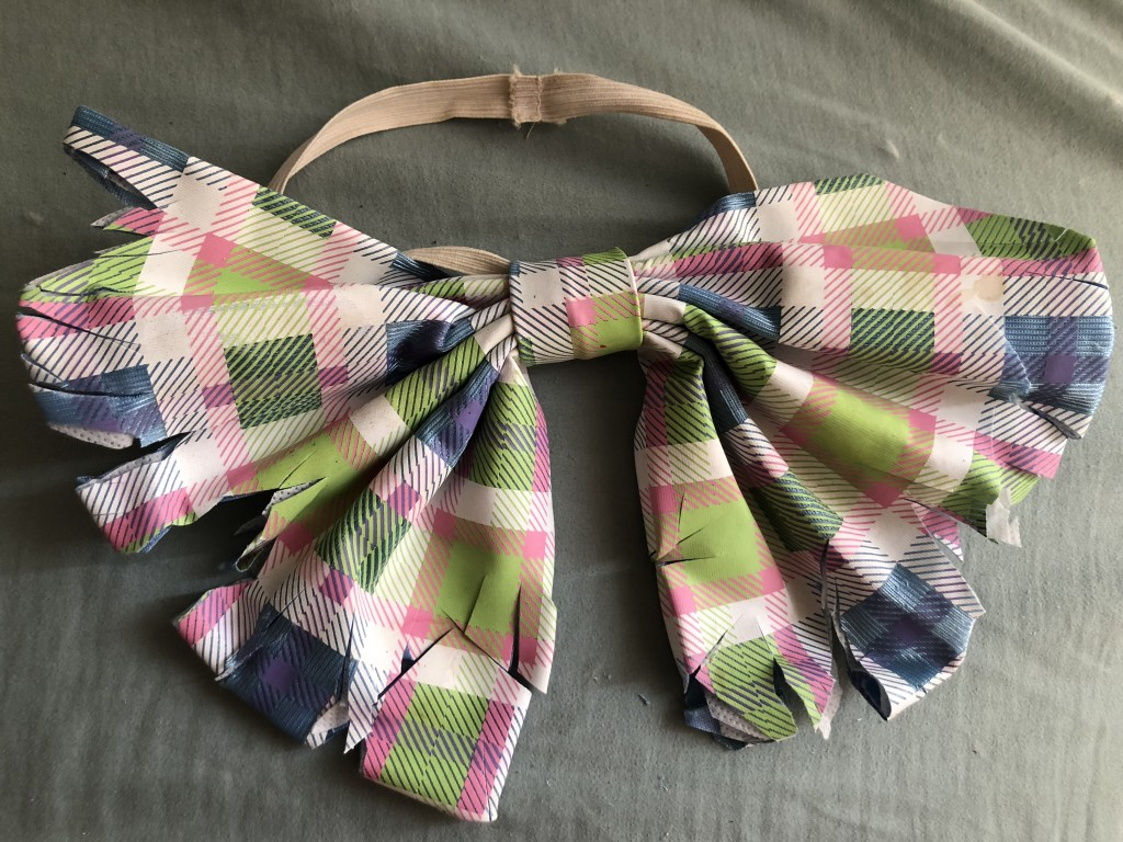 Horror Tutorials Zombie Easter Bunny bow tie cut