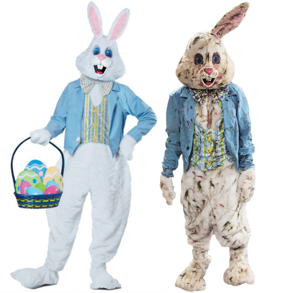 Horror Tutorials Zombie Easter Bunny
