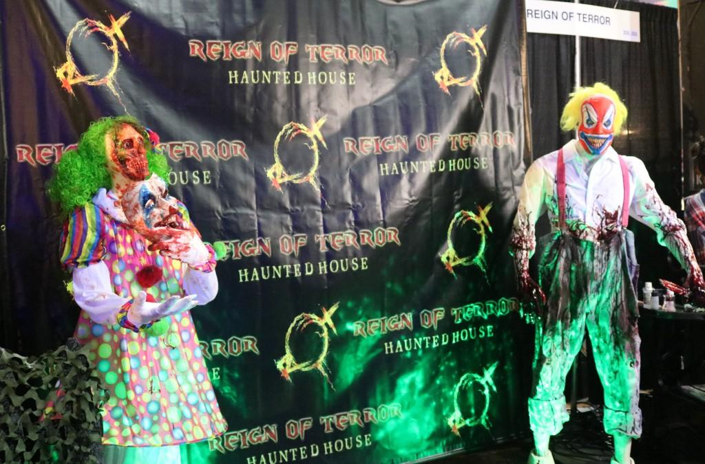 ScareLA 2018 zombie clowns