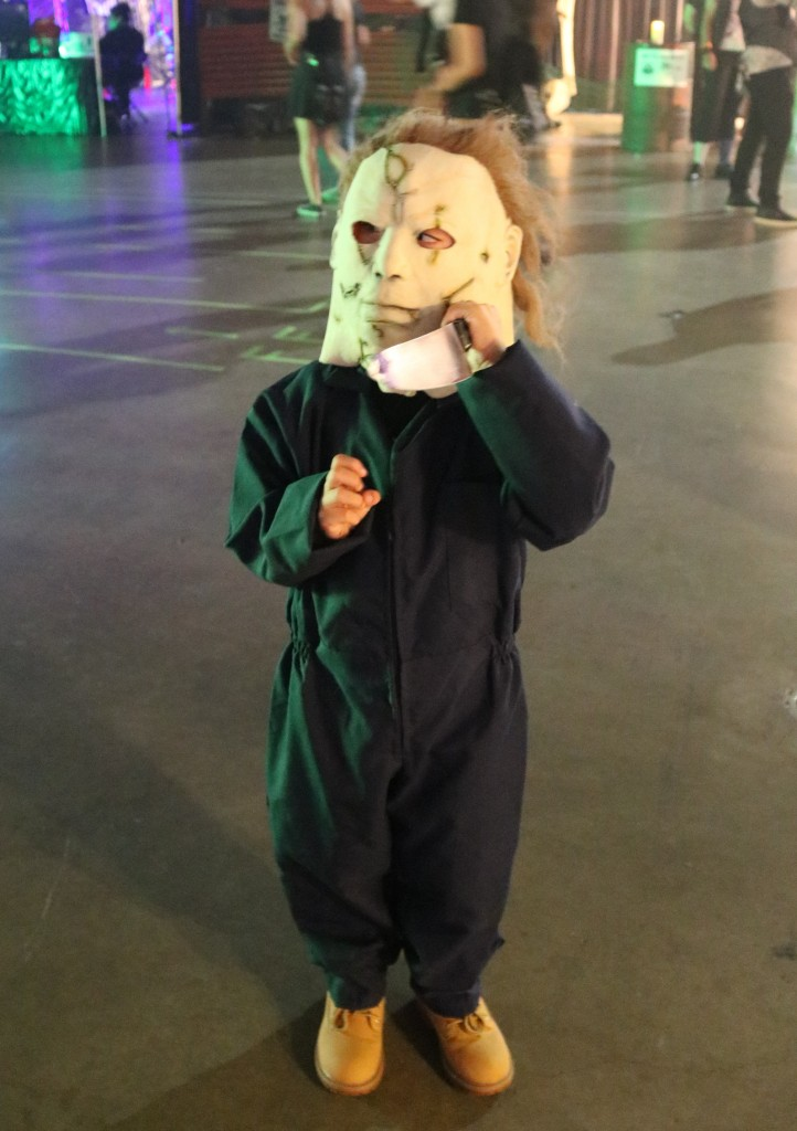 ScareLA 2018 Michael Myers Halloween Child Costume